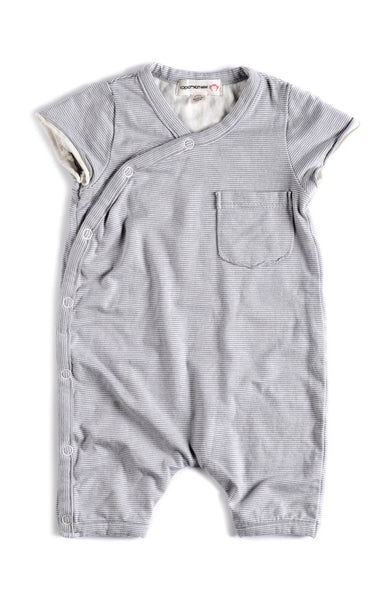 Appaman Baby Boys Mist Pocket Romper