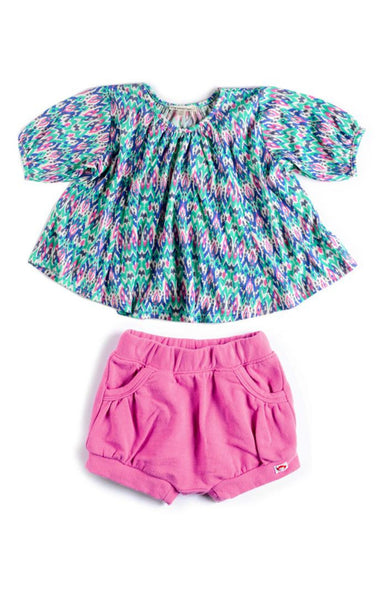 Appaman Baby Girls Ikat Set