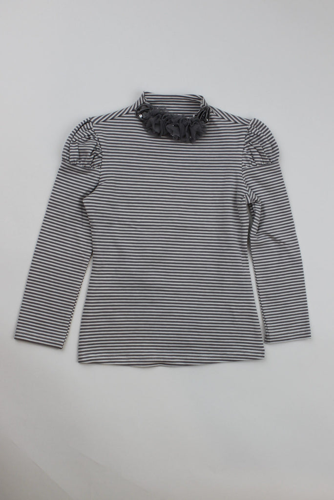 Kate Mack Girl's Long Sleeve Striped Top