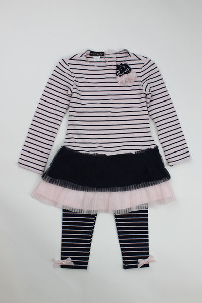 Kate Mack Girl's Tunic & Legging Set
