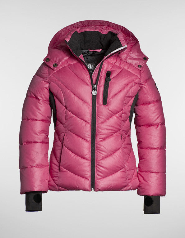 Reset Girl's Quilted Puffer Ski Jacket