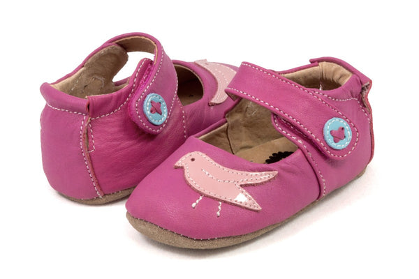 Livie & Luca Baby Girl's Fuchsia Pio Pio Shoes