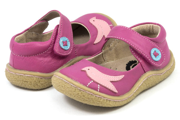 Livie & Luca Girl's Pio Pio Fuchsia Shoes