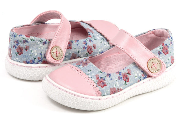 Livie & Luca Girl's Skipper Rose Shoes