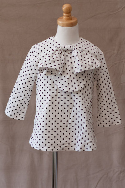 A.BIRD - Mel Top in Polka Dot