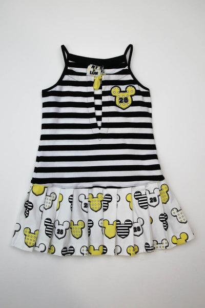 Monnalisa Designer Disney Mickey Mouse Summer Dress
