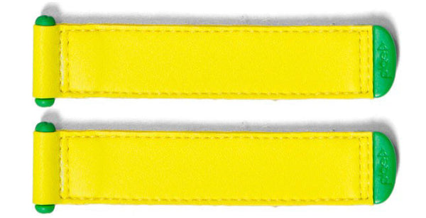 Plae Neon-Yellow Shoe Tabs