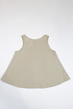 Happy Green Bee Sleeveless Blouse-6YRS-Natural-6