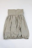 Happy Green Bee Linen Bubble Skirt-7YRS-Natural-7