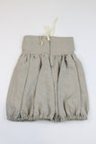 Happy Green Bee Linen Bubble Skirt-5T-Natural-5T