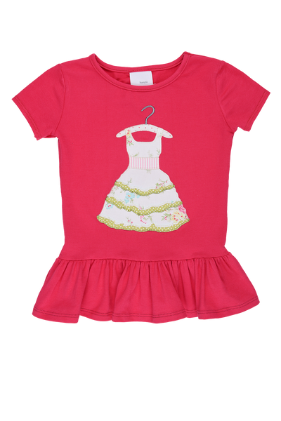 Persnickety Girls Pink Elsie Top