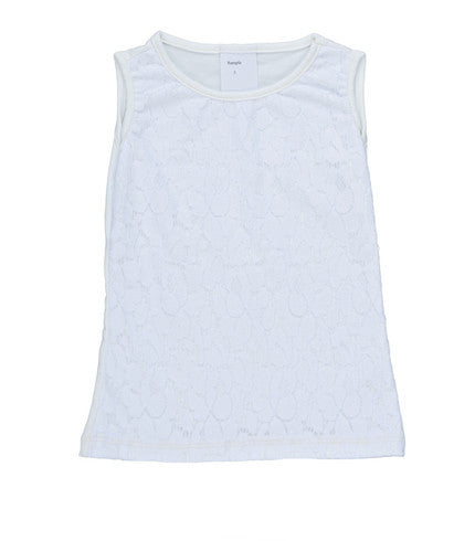 Persnickety Girls White Josie Tank