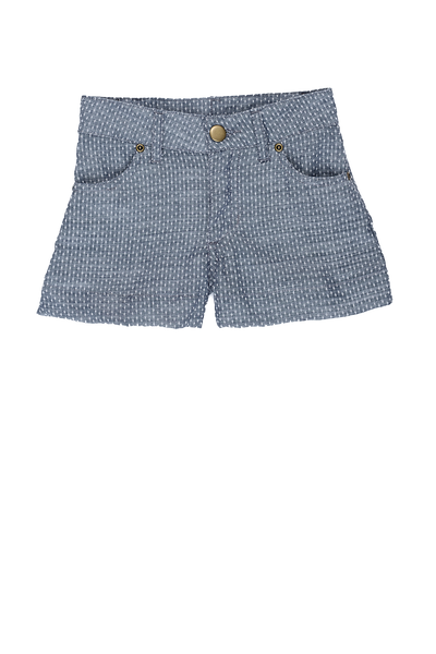 Persnickety Girls Blue Hazel Short
