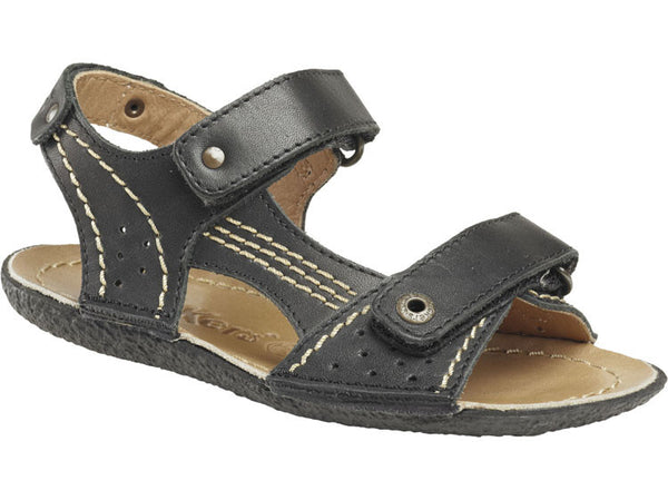 Kickers Pegase Black Summer Sandal Shoes