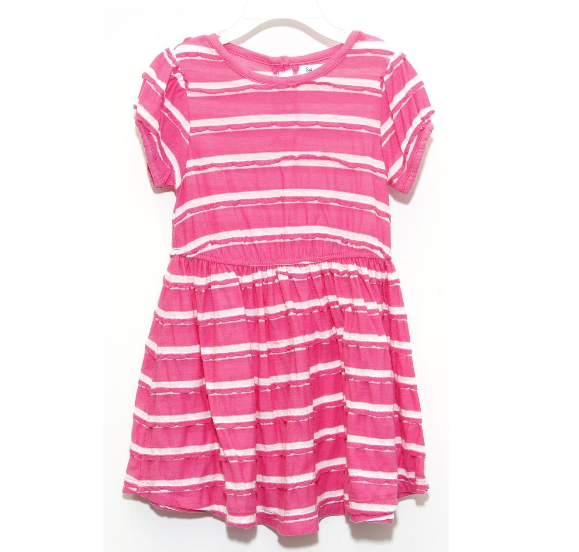Splendid Little Girl Scallop Stripe Dress