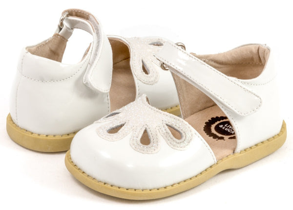 Livie & Luca Girls Petal White Shoes
