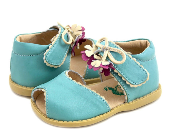 Livie & Luca Girl's Light Blue Merry Bell Shoes