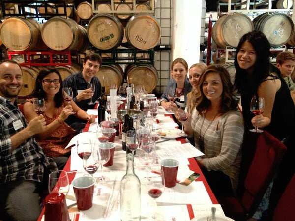 Blending session at Dogpatch WineWorks