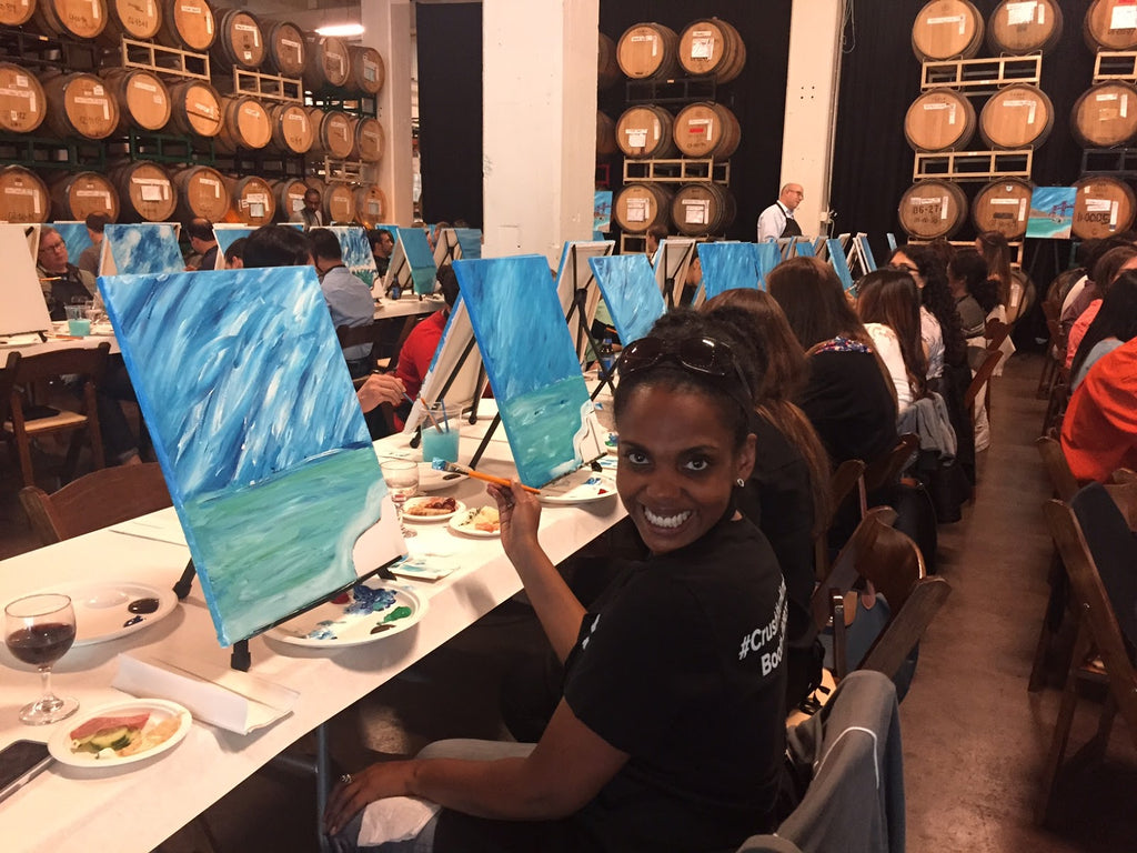 Painting Classes at Dogpatch WineWorks