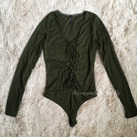 Leah Long Sleeve Bodysuit
