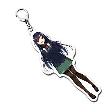 Accel World Kuroyukihime Original Costume Acrylic Key Chain NewDays x Dengeki Bunko 25th Anniversary