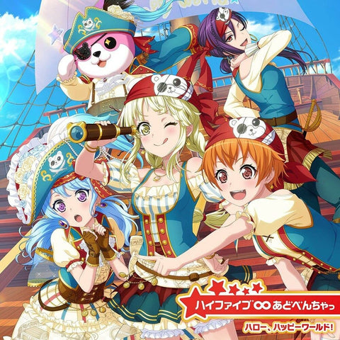 Hi Five Adventure Hello Happy World! Bang Dream CD *pre-owned
