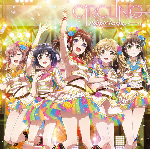 Circling Poppin'Party Bang Dream CD *pre-owned