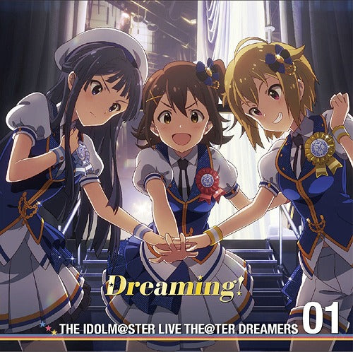 The Idolmaster (THE IDOLM@STER) LIVE THE@TER DREAMERS 01 Dreaming! *pre-owned