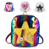 Hologram Heart/Star Window Ita Bag