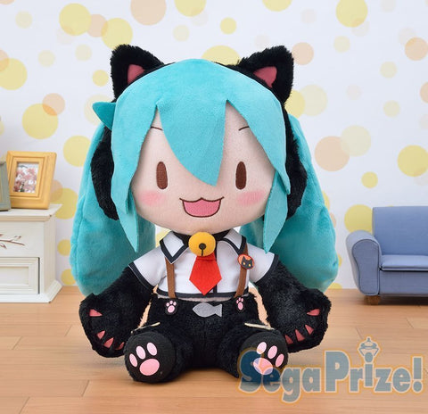SEGA Vocaloid Hatsune Miku Nyanko Big Cat Ear Plush