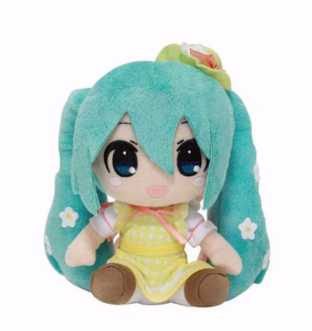 Vocaloid Hatsune Miku Yellow Sun dress Taito Springtime Plush