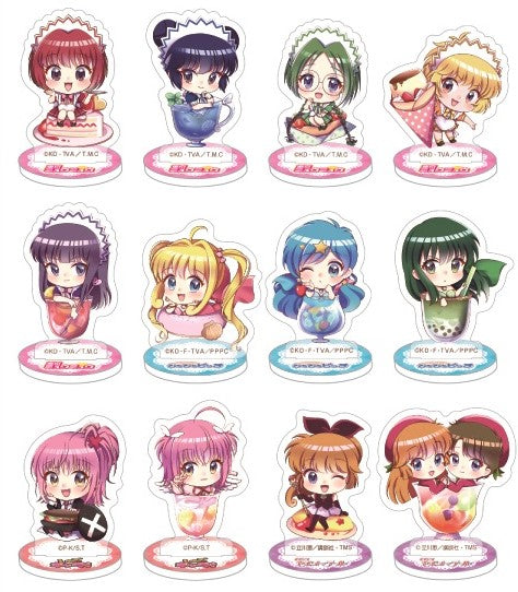 Nakayoshi Magical Girl Anime Cafe & Shop Acrylic Stands Pre-Order