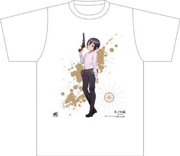 Kino's Journey the Beautiful World T-shirt L size NewDays x Dengeki Bunko 25th Anniversary