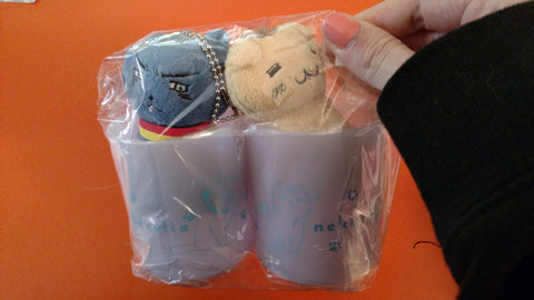 Neko Hetalia Cups and Plush
