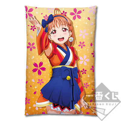 Love Live! Sunshine!!  Takami Chika  Mijuku Dreamer Cushion Pillow (Banpresto)