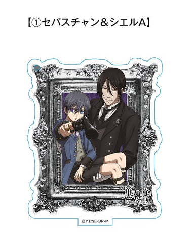 Black Butler Book of Circus Standing Acrylic Keychain