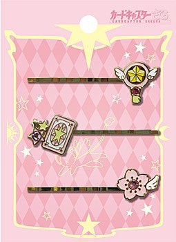 """Cardcaptor Sakura"" Hairpin Set Sakura Card Set"