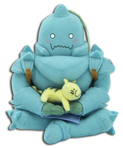 Full Metal Alchemist Alphonse Sitting Pose Plush 8in