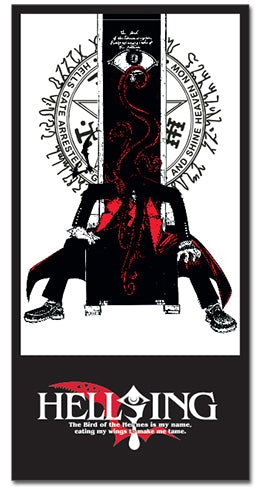 Hellsing Ultimate Alucard Full Sized Beach Towel