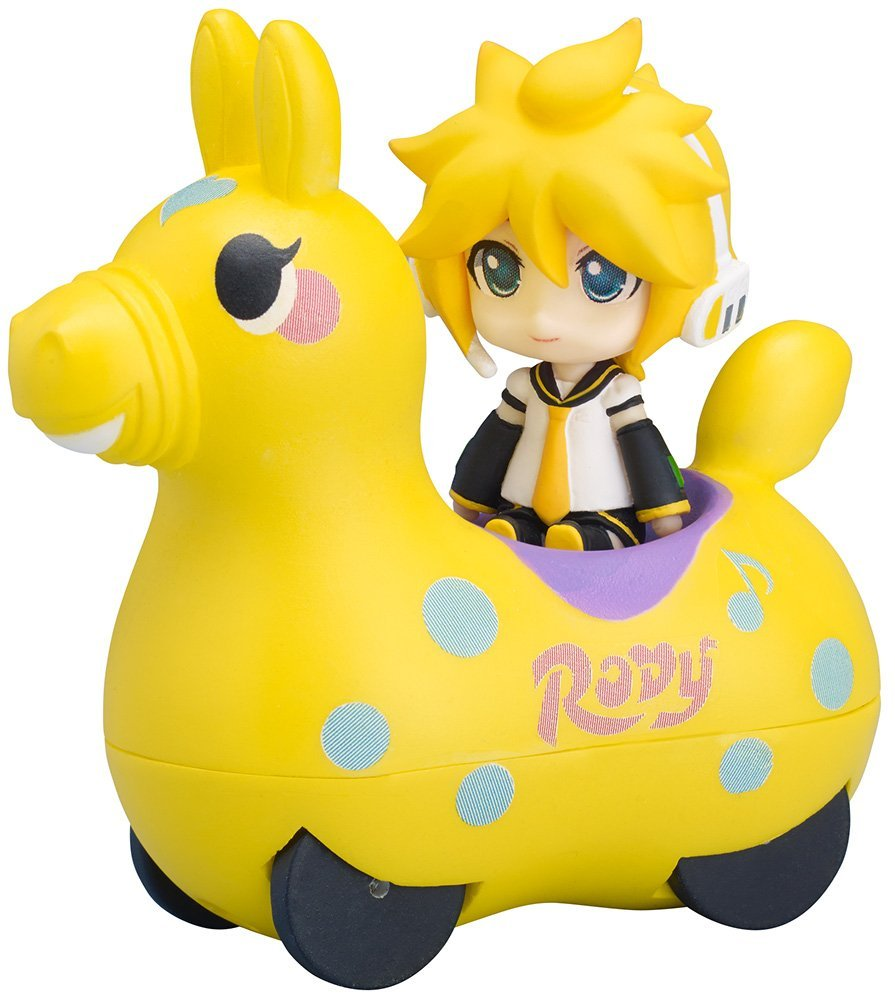 FREEing Nendoroid Plus: Len Kagamine & Rody Pullback Car Vehicle (Lemon Version)