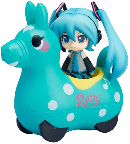 FREEing Nendoroid Plus: Hatsune Miku & Rody Pullback Car Vehicle (Mint Version)
