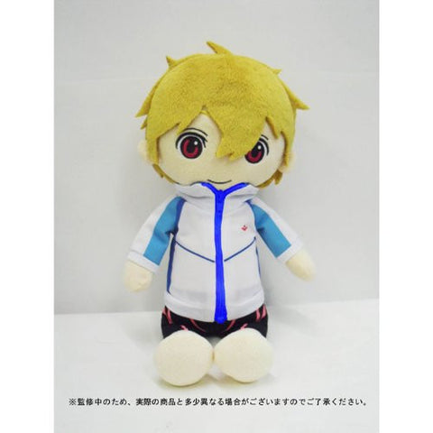Free! Iwatobi Swim Club Import Stripping Nagisa Plush Bandai