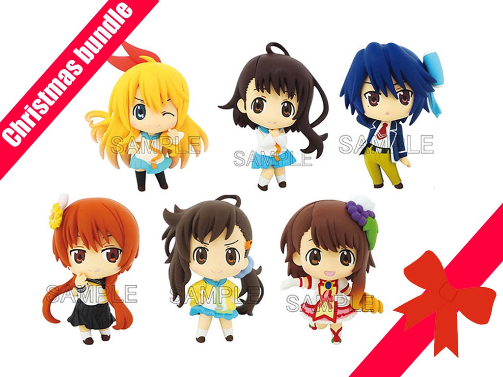 CHRISTMAS BUNDLE Color-Cole DX - Nisekoi Full set of 6 – Shazami\'s $#!%
