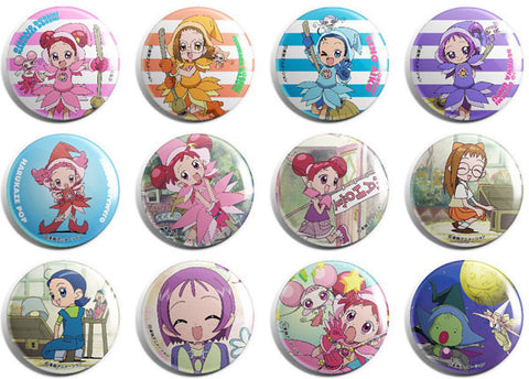 Ojamajo / Magical Doremi Can badge Buttons