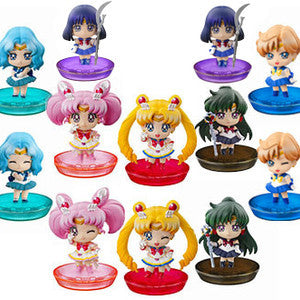 "Sailor Moon Petite Chara Trading Figures set 2 ""Outer Planets"""