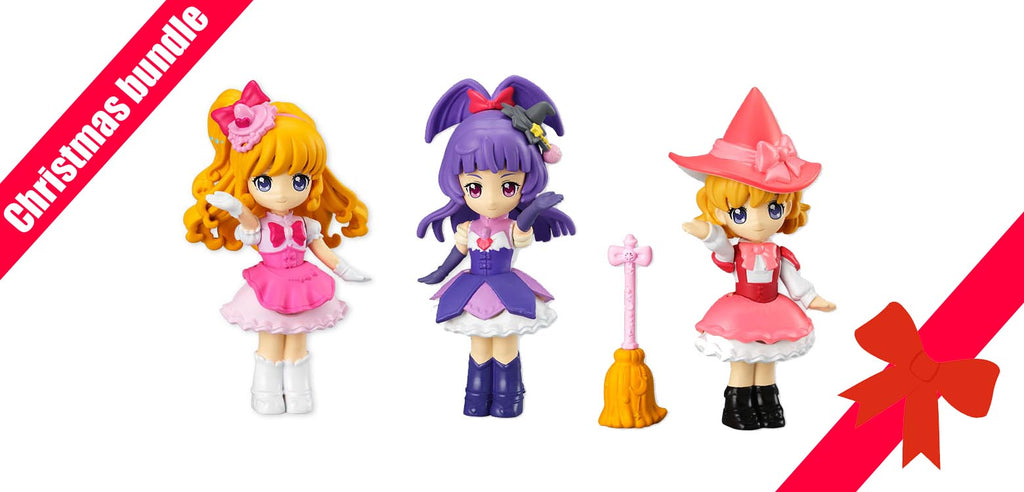 Maho Tsukai PreCure! - Lovely Pose Dolls Set of 3 BANDAI