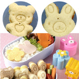 Kawaii Bento Shapers and Sandwich Presses