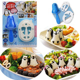 Penguin Sushi Mold Rice Ball Maker Kit Bento