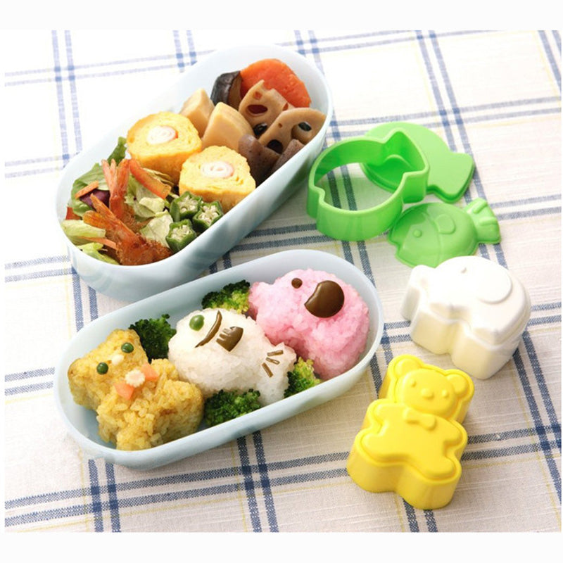 3 Piece Rice Mold Set (Great for Bento!)