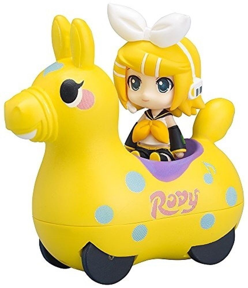 FREEing Nendoroid Plus: Rin Kagamine & Rody Pullback Car Vehicle (Lemon Version)